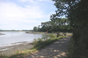 estuary near Pont L'Abb�